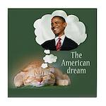 American Dream Tile Coaster