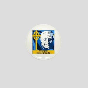 Papst Benedikt Frohe Weinacht Mini Button (10 pack