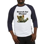 Hoorah for Obama Baseball Jersey