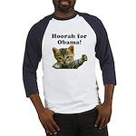 Hoorah for Obama Baseball Jersey