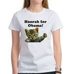 Hoorah for Obama Women's T-Shirt