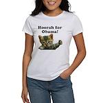Hoorah for Obama Women's T-Shirt