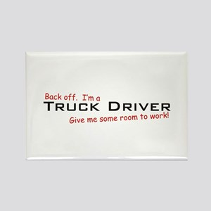 I'm a Truck Driver Rectangle Magnet