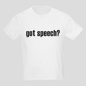 got speech? Kids T-Shirt