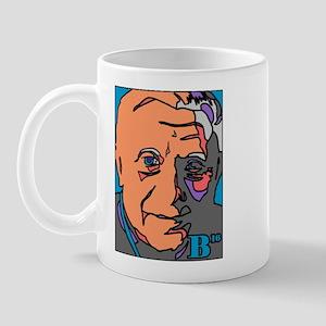 New Pope Papa Ratzi Stain Glass Mug