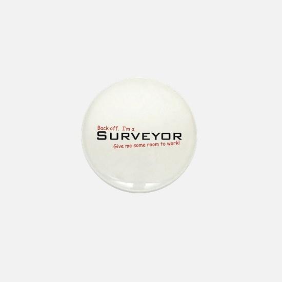 I'm a Surveyor Mini Button