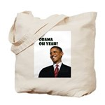 Obama Oh Yeah!Tote Bag