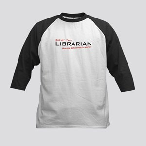 I'm a Librarian Kids Baseball Jersey
