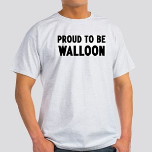 Proud to be Walloon Light T-Shirt