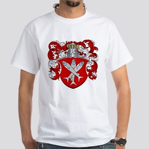 Van Cleave Coat of Arms White T-Shirt