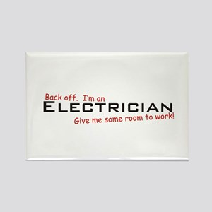 I'm an Electrician Rectangle Magnet