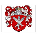 Van Cleave Coat of Arms Small Poster