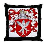 Van Cleave Coat of Arms Throw Pillow