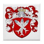 Van Cleave Coat of Arms Tile Coaster