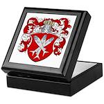 Van Cleave Coat of Arms Keepsake Box
