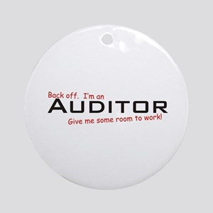 I'm a Auditor Ornament (Round)