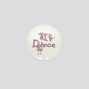 Ballerina I Dance Mini Button