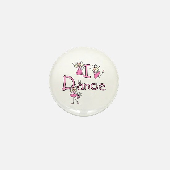 Ballerina I Dance Mini Button