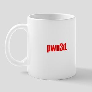 """""""pwn3d."""" Mug"""