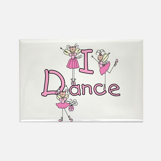 Ballerina I Dance Rectangle Magnet