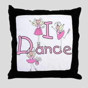 Ballerina I Dance Throw Pillow