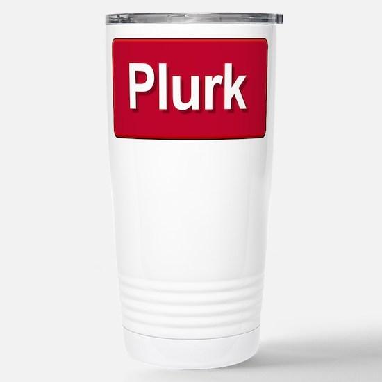 Plurk Stainless Steel Travel Mug