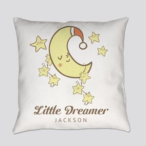 Moon and Stars Personalized Everyday Pillow