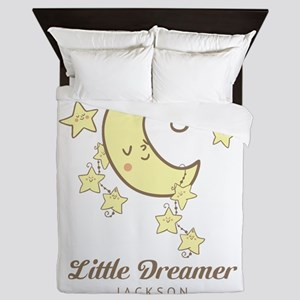 Moon and Stars Personalized Queen Duvet