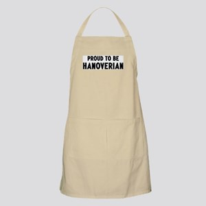 Proud to be Hanoverian BBQ Apron