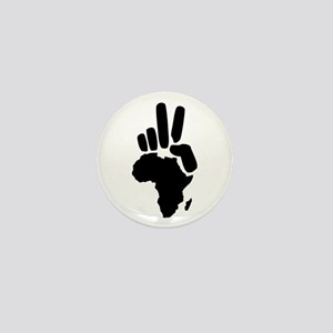 africa darfur peace hand vintage Mini Button