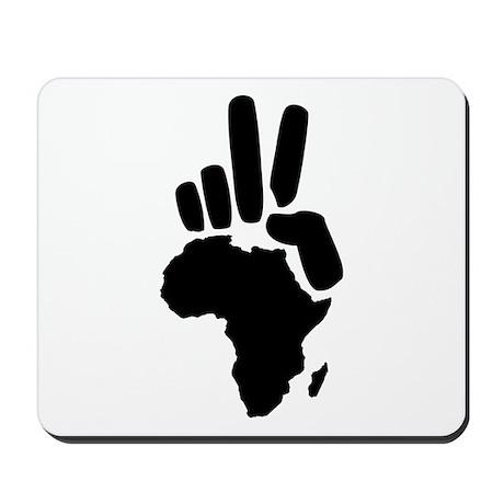 africa darfur peace hand vintage Mousepad