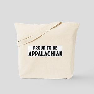Proud to be Appalachian Tote Bag