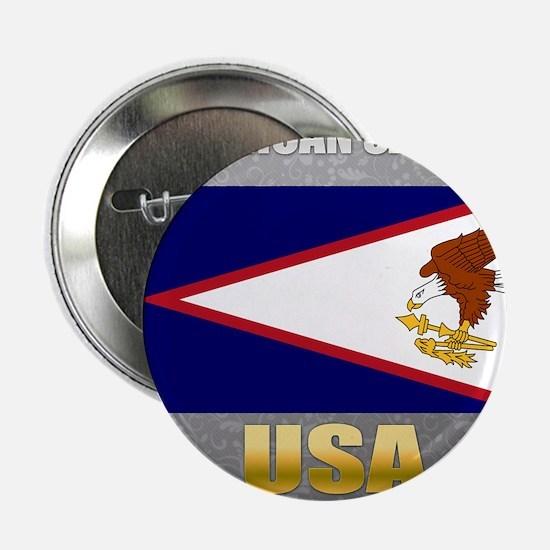 "American Samoa USA Crest 2.25"" Button"