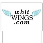 Whit Wings Yard Sign