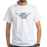Whit Wings White T-Shirt