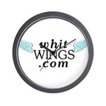Whit Wings Wall Clock