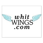 Whit Wings Small Poster