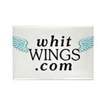 Whit Wings Rectangle Magnet (100 pack)