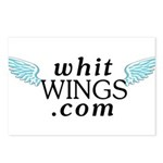 Whit Wings Postcards (Package of 8)