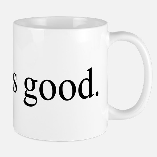 Greed is good Mug