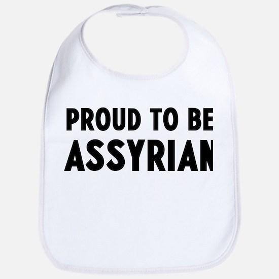 Proud to be Assyrian Bib