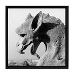 Notre Dame Dragon Gargoyle Tile Coaster