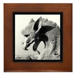 Notre Dame Dragon Gargoyle Framed Tile