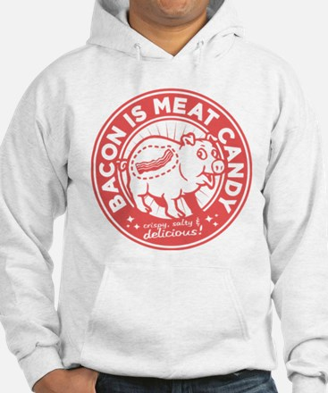 bacon is meat candy Jumper Hoody