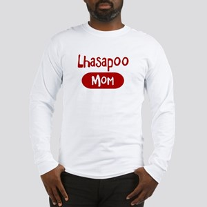 Lhasapoo mom Long Sleeve T-Shirt
