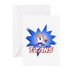 Titans Greeting Cards (Pk of 20)