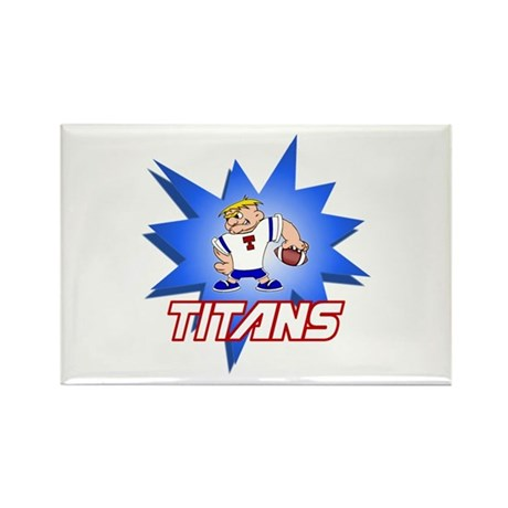 Titans Rectangle Magnet (10 pack)