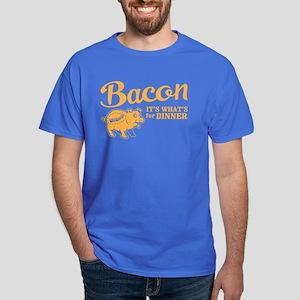 bacon it's what's for dinner Dark T-Shirt