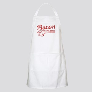 bacon it's what's for dinner BBQ Apron