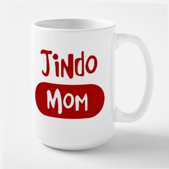 Jindo mom Large Mug